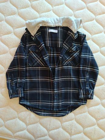 Camisa de inverno menino 9anos