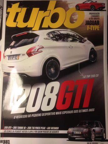 Revistas Turbo de vários anos