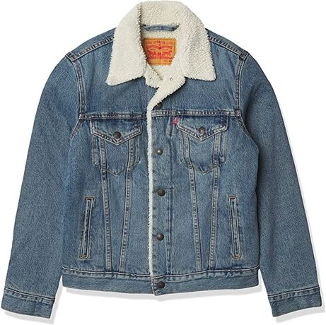 Куртка чоловіча Levi's Men's Sherpa Trucker Jacket, р. М