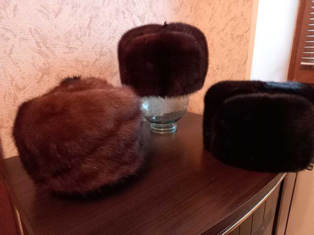 Мужские и женские норковые шапки