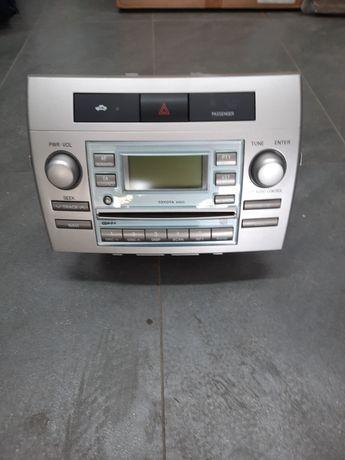Radio do Toyoty Corolla verso od 2004-7 roku