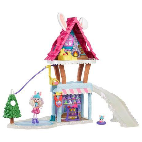Энчантималс лыжный домик-шале с кроликами Enchantimals Ski Chalet Play