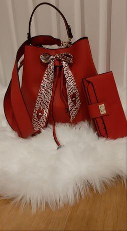 Conjunto de mala com pochete + carteira