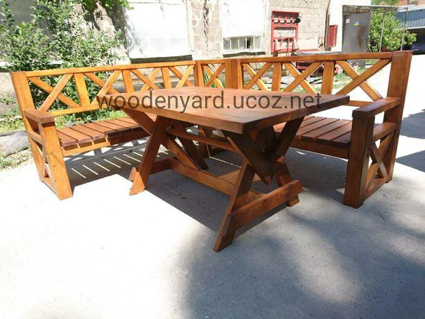 Садовая мебель,столы, лавочки