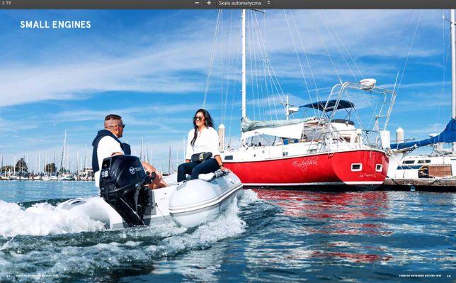 Tohatsu nowy japoński silnik zaburtowy 10 KM na ponton łódź