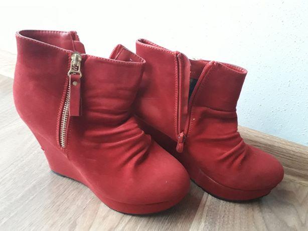 Czerwone botki