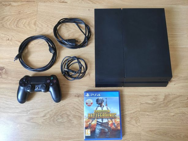 PlayStation 4 1TB PS4 CUH-1216B Matowa + Pad + Gra Playerunknown's