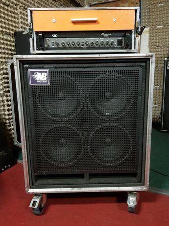 Ampeg B5R + Kolumna Noisybox, zestaw w kejsach, Okazja!