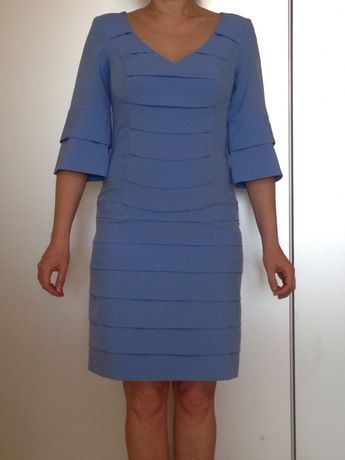 Платье голубое Olifer