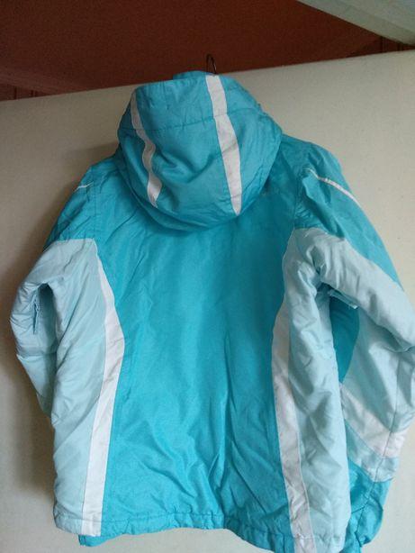 Лыжная, зимняя, женская термо курточка для активного отдыха