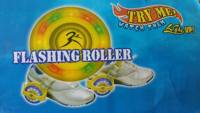 Flashing Roller - kółka świecące do butów
