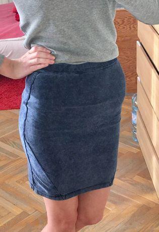 Spódniczka na gumkę XS jeansowa