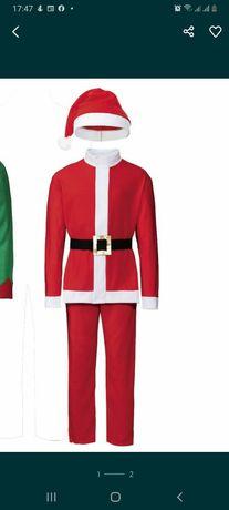 Костюм Санта Клаус дед мороз