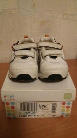 Детские кроссовки Clarks светящиеся 14.5 см