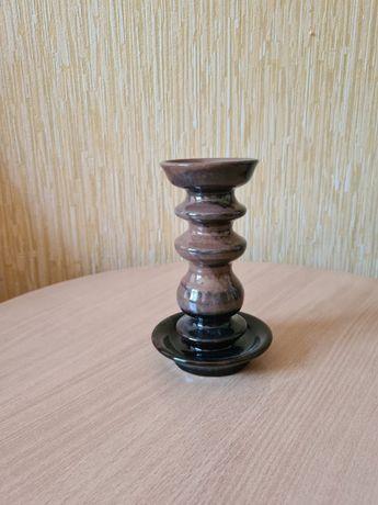 Подсвечник керамика Latvijas Keramika, времён СССР