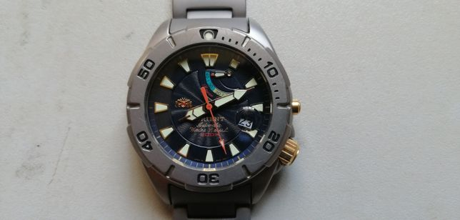 ORIENT M-FORCE zegarek power reserve