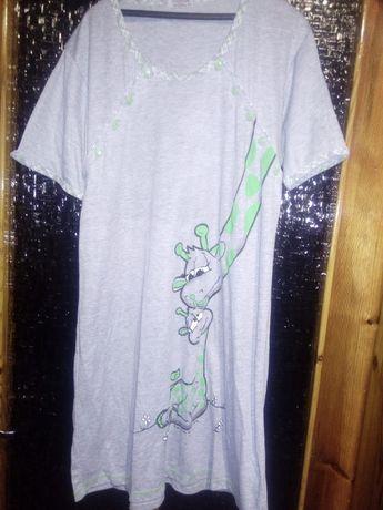 koszula nocna dla karmiących 2 sztuki