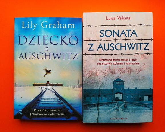 """Dziecko z Auschwitz"" Graham + ""Sonata z Auschwitz"" Valente"