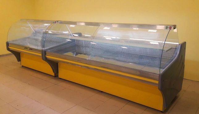 Холодильные витрины Capraia. Длина от 1м. до 2,4м. 100%нерж. Новые.