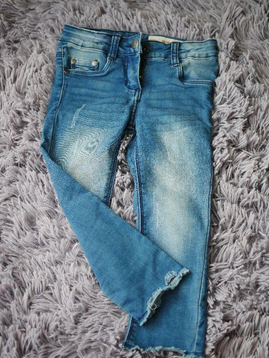 Spodnie jeansowe dla dziewczynki r 98 lupilu skinny fit Piotrków Trybunalski - image 1
