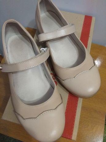 Шкіряні туфлі Lapsi (дівч.)