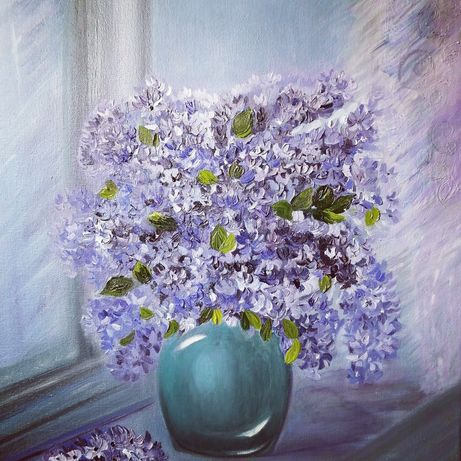 Картина написана масляными красками от художника Ingi.