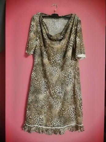 Sukienka panterka rozmiar L