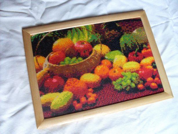 """картина """"фрукты"""" ручная работа на подарок"""