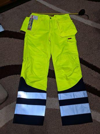 Spodnie robocze odblaskowe jobman c50 2212