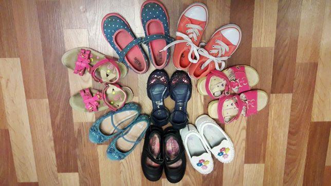 Фирменная обувь на девочку, размеры от 28-30