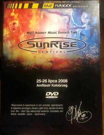 Oryginalne DVD - SUNRISE FESTIVAL 2008 - !!! unikat !!!
