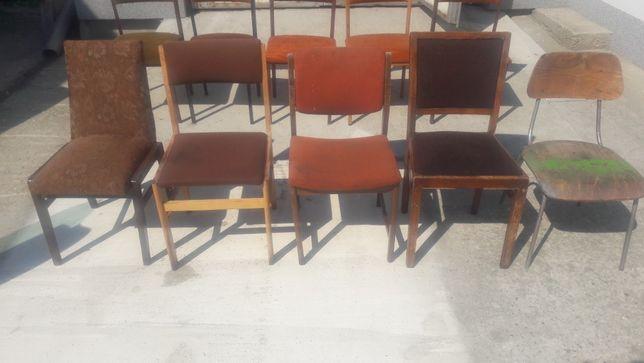 Krzesła PRL Mix