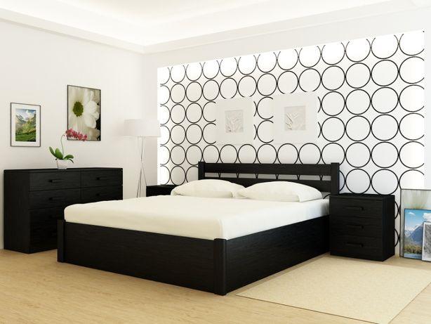 Кровать деревянная Frankfurt PLUS Венге с подъемным механизмом.