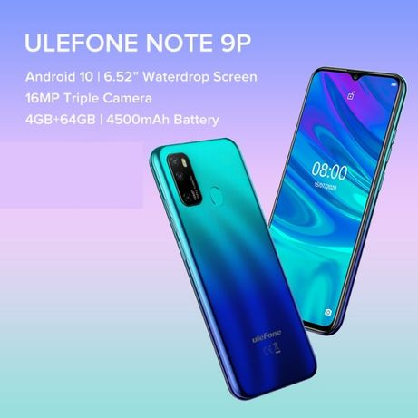 Ulefone Note 9P 4GB/64GB 2.0GHz