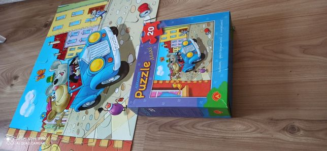 Puzzle maxi dla dziecka