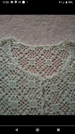 Bolerko szydełkowe handmade