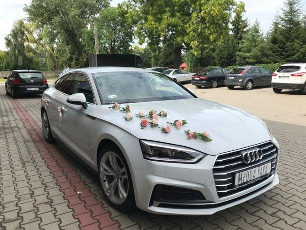Auto do Ślubu Audi A5 Sportback kolor biały