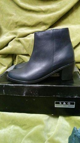 Женские ботинки. Марокко. Новые. Кожа. 37 р.
