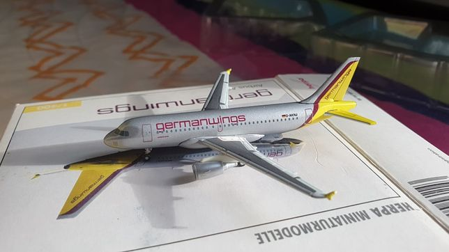 Modelos avião à escala 1/400 1:400 Martinair/Germanwings/North America