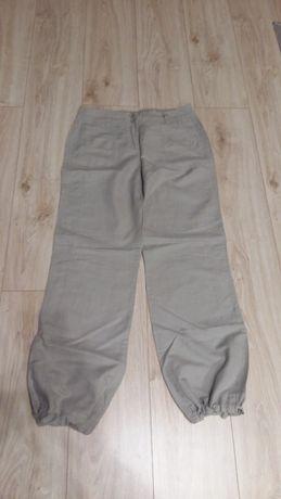 spodnie lniane CAMAIEU rozm. 38 M