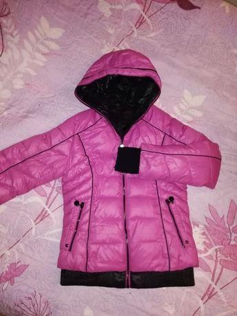 Зимняя куртка + жилетка, 152-164