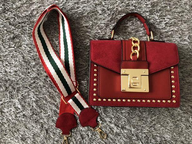 Nowa piękna bordowa torebka, hit!, idealna na prezent!