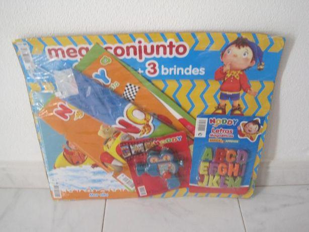 Revista + brinquedos do Noddy