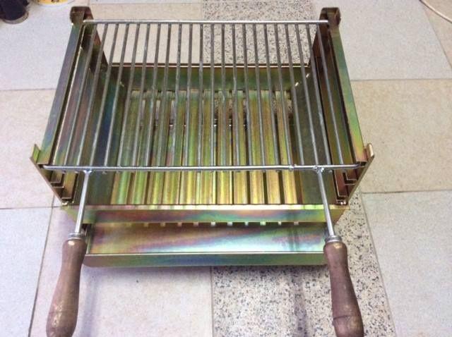 grelhador churrasqueira grelha ferro zincado