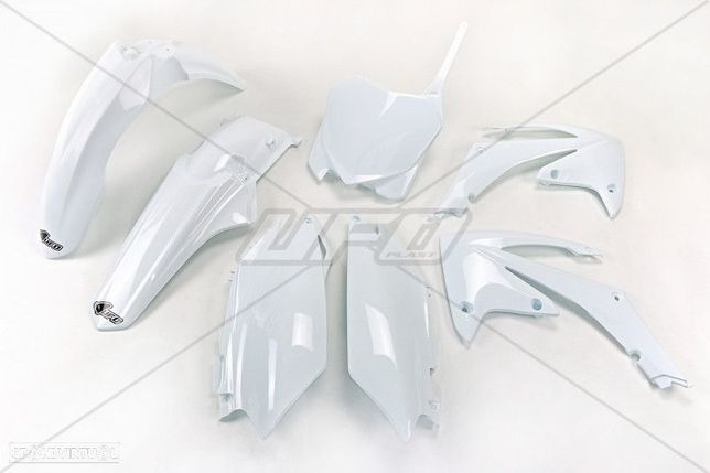 kit plasticos branco ufo honda crf 250 / 450