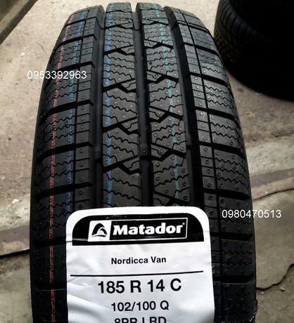 Шины Зимние 185 R14C Matador Nordicca Van