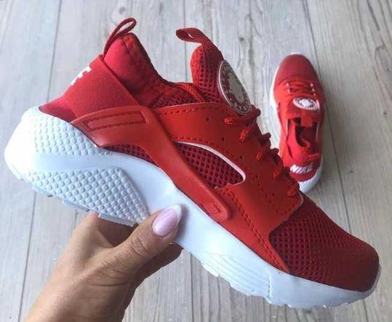Nike Huarache Roz.36/37/38/39/40/41/42/43/44 Czerwone, Czarne, ZAMÓW