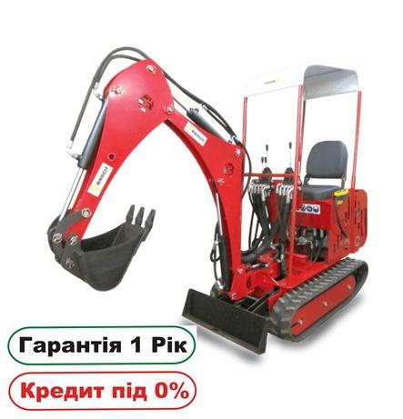 Мини экскаватор миниэкскаватор МД-3, мини трактор, минитрактор