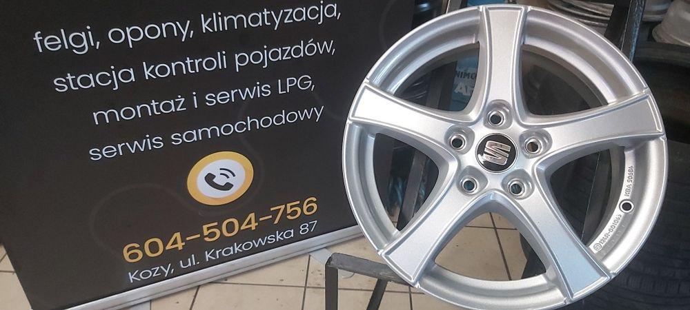 "Felgi Aluminiowe Oryginalne Borbet 16"" 5x112 Audi Seat Skoda Vw Kozy - image 1"
