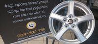 "Felgi Aluminiowe Oryginalne Borbet 16"" 5x112 Audi Seat Skoda Vw"